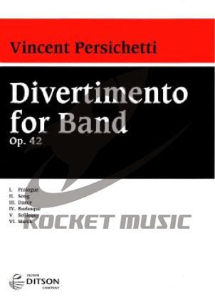 [楽譜] バンドのためのディベルティメント《輸入吹奏楽譜》【DM便送料無料】(Divertimento for Band)《輸入楽譜》:ロケットミュージック 楽譜EXPRESS