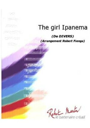 [楽譜] イパネマの娘(アントニオ・カルロス・ジョビン)《輸入吹奏楽譜》【DM便送料無料】(GIRL FROM IPANEMA,THE)《輸入楽譜》:ロケットミュージック 楽譜EXPRESS