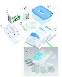 【学校で使われている】吐瀉物・汚物処理セット *ノロウイルス対策