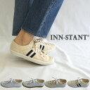 INN-STANT【インスタント】キャンバスローカットスニー