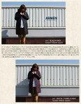"ARMEN【アーメン】ナイロン/フリースリバーシブルフード付きキルティングコートREVERSIBLEHOODEDQUILTINGCOAT""NAM0681"""