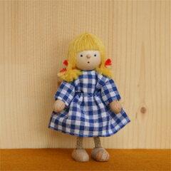 ヘアビック ドールハウス用人形 女の子
