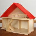 バウアー社 赤い屋根の家(家のみ)