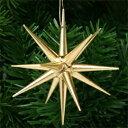【xmas限定販売】《クリスマスオーナメント》 金の星・大