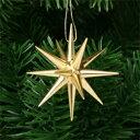 《クリスマスオーナメント》 金の星・小