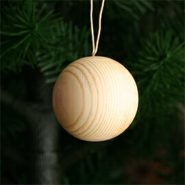 ツリーオーナメント・木の玉