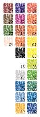 シュトックマー社 蜜蝋クレヨンスティックタイプ補充用単品 色番号24ピンク