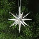【xmas限定販売】《クリスマスオーナメント》 銀の星・小