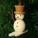 【xmas限定販売】《クリスマスオーナメント》 スキーの雪だるま