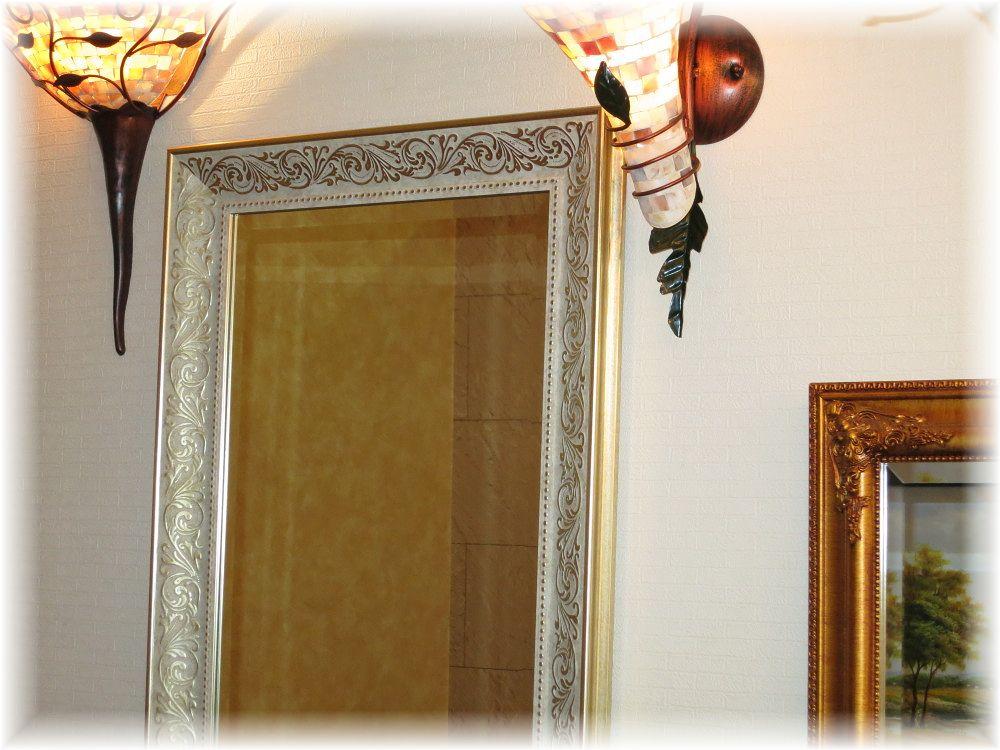 鏡 かがみ カガミ ミラー 姿見鏡 壁掛け鏡 大型鏡 卓上鏡 ドレッサー スタンドミラー 豪華 おしゃれ【!】☆豪華姿見鏡☆新品 大型 アンティーク調 シンプルデザイン 姿見鏡 鏡 かがみ カガミ ミラー 壁掛け 姿見 大型 卓上 アンティーク おしゃれ