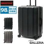 ノベルティ付 【日本正規品】 ブリーフィング スーツケース BRIEFING キャリーケース H-98 HD ハード フレーム 98L 10泊 大きめ Lサイズ 大容量 2週間 旅行 トラベル メンズ レディース BRA191C05