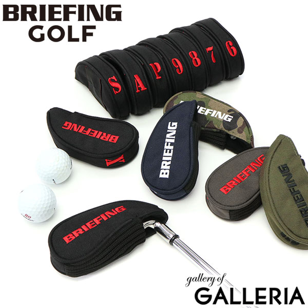 ヘッドカバー, アイアン用  BRIEFING GOLF SEPARATE IRON COVER BRG193G60