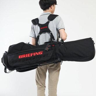もれなく選べるノベルティプレゼント【日本正規品】ブリーフィングゴルフBRIEFINGキャディバッグスタンドGOLFCR-4#01ゴルフバッグメンズショルダー背負いカバーレディースBRG183701
