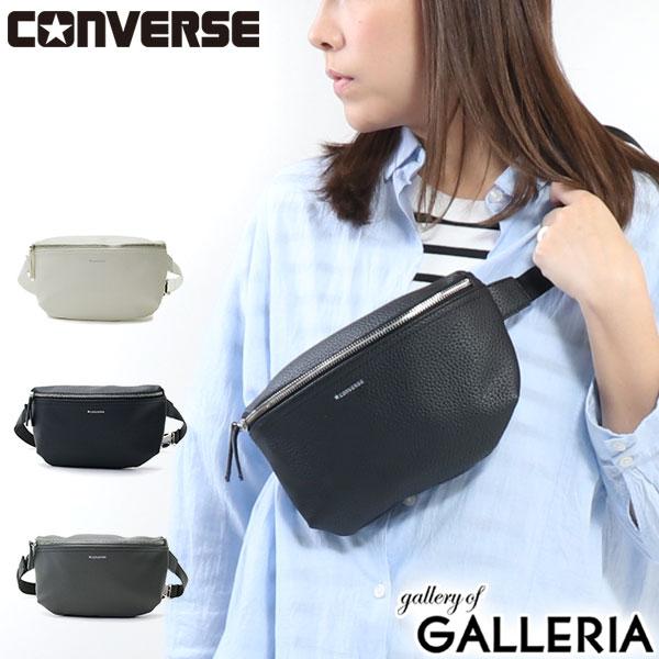 男女兼用バッグ, ボディバッグ・ウエストポーチ  CONVERSE PU Body Bag 14072800
