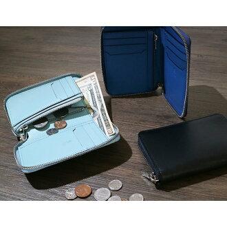 FAROファーロ財布faro財布二つ折り財布メンズラウンドファスナーラウンドジップGRECOFIN-CALFFRO384271【対応】【送料無料】ポイント10倍