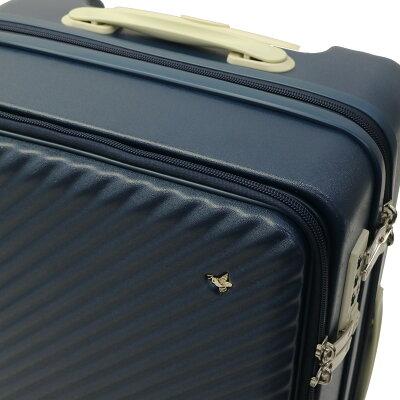ACEのフロントオープンスーツケースのオリジナル内装