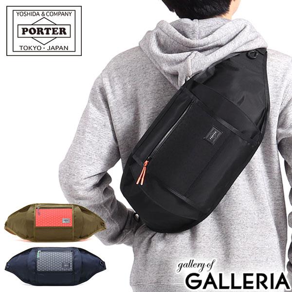 男女兼用バッグ, ボディバッグ・ウエストポーチ 23 615 PORTER HEXARIA WAIST BAG(S) B5 682-17952 2020