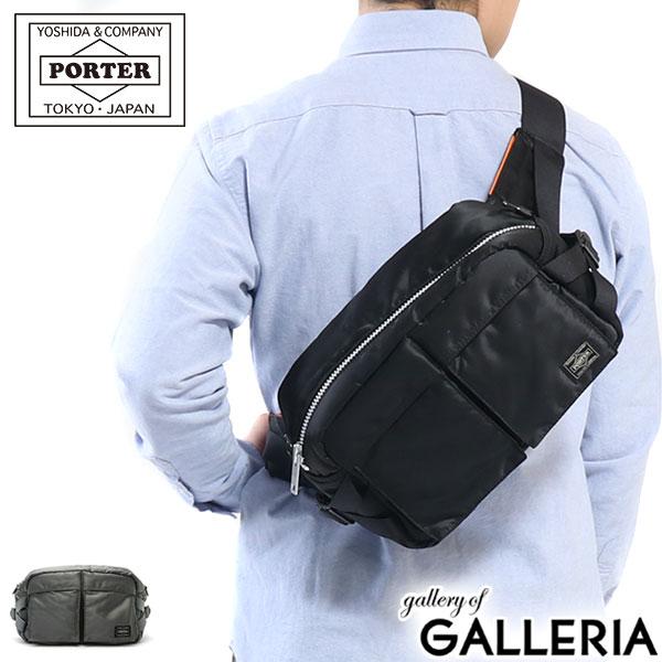 メンズバッグ, ボディバッグ・ウエストポーチ  PORTER TANKER WAIST BAG 622-68302