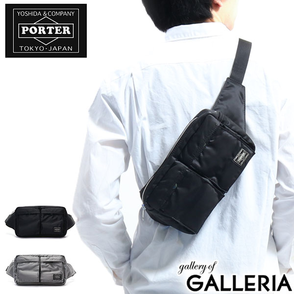 メンズバッグ, ボディバッグ・ウエストポーチ  PORTER TANKER WAIST BAG 622-68723