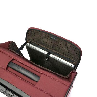 PROTECAのスーツケース 前開きタイプ