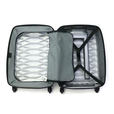 PROTECAのスーツケース 内装