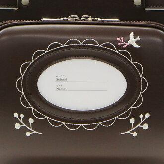 ランドセル女の子2018年キッズアミKIDSAMIナース鞄工トラッド牛革エコレザーフラットキューブランドセルキューブ型ウィング背カンA4フラットファイル対応19006