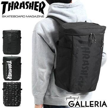 【楽天カードで29倍 | 6/15限定】 スラッシャー リュック THRASHER バックパック Benchmark Backpack Box リュックサック スクエア ボックス 25L B4 大容量 スケーター 通学リュック 通学 高校生 部活 旅行 メンズ レディース THR-102