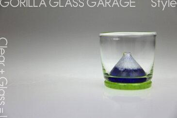 富士ちょこ ぐい呑み・ぐいのみ・ガラス・酒器・グラス・プレゼント・ギフト・父の日・還暦・誕生日・退職祝い