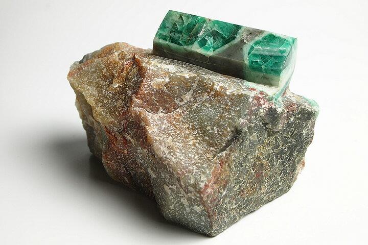 エメラルド原石磨き ブラジル産:ギャラリーメイスン