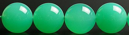 12mm最高級品!10Aグレードクリソプレーズ粒売りビーズ(オーストラリア翡翠):ギャラリーメイスン
