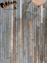 リクレイムド・メイプル・フローリング グレイ 幅57mm (1m2)[送料区分5]【無垢 フローリング 床材 古材 アメリカ メープル グレー 乱尺 インダストリアル 店舗内装 ビンテージ】