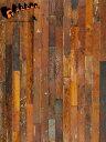 リクレイムド・メイプル・ボード 幅88mm (1m2)[送料区分5]【古材 板材 壁板 メープル 無垢 乱尺 diy ブラウン 茶色 薄板 腰板 家具 天板 材料 撮影用背景 販売 通販】