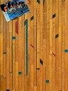 オレンジ・メイプル・フローリング 幅57mm (1m2)[送料区分5]【無垢 フローリング 床材 古材 アメリカ メープル オレンジ 乱尺 インダストリアル 店舗内装 ビンテージ】