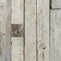 パイン系の無垢古材薄板。壁や腰板など内装や家具の材料にお使いください。白ペンキ付きの魅力的な風合いです。