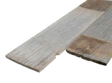バーン・ウッド・ハーフ1×8長さ2000mm (販売単位:1枚)※送料無料対象外【送料区分4】【古材 壁板 壁材diy無垢 木材 本物 リフォーム 羽板 グレーウッド 薄板 什器 販売 通販】