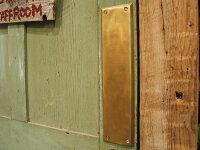 7505-43プッシュ・プレート★アンティーク・リプロダクト★真鍮金具、ドア、扉、押し板【10P23may13】