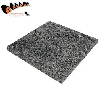 ラバ・ストーン・タイル 300×300mm (6枚/1箱)(約0.54m2分)サイズに誤差があります。[送料区分2]【タイル 天然溶岩石 多孔質 グレー 正方形 石材 建材 貼石 プレート 内装 外構 壁 床 通販 販売】