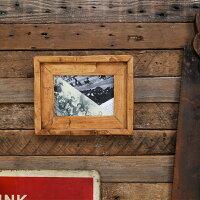 [5×7inch(2L写真)サイズ用][木製額縁写真絵画ポスターメニュー][DIYリノベーション]ハンド・ヒューン・フレーム5×7inch※ガラス・ミラー・壁掛けフックは別売りです。…