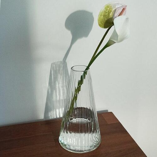リューズガラス クーレライン フラワーベース アルプ(L)