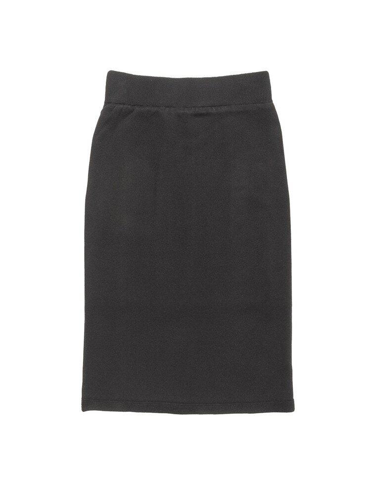 天竺編みストレッチニットタイトスカート