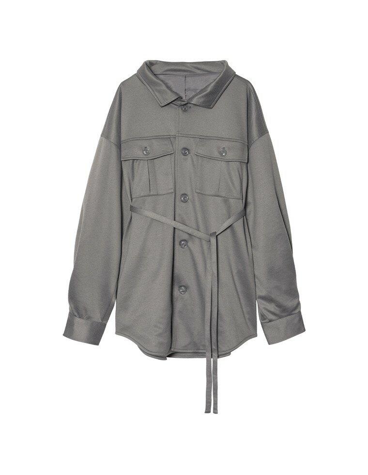 [I.W.U(アイダブリュー)ユニセックス/親子ペア/レディース/メンズ][サステナブル]あったか表起毛リサイクルジャージーCPOジャケット