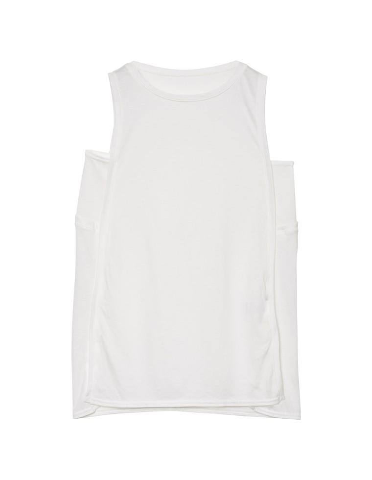 [×リエディコラボ]綿モダールリスラックスタンクトップス