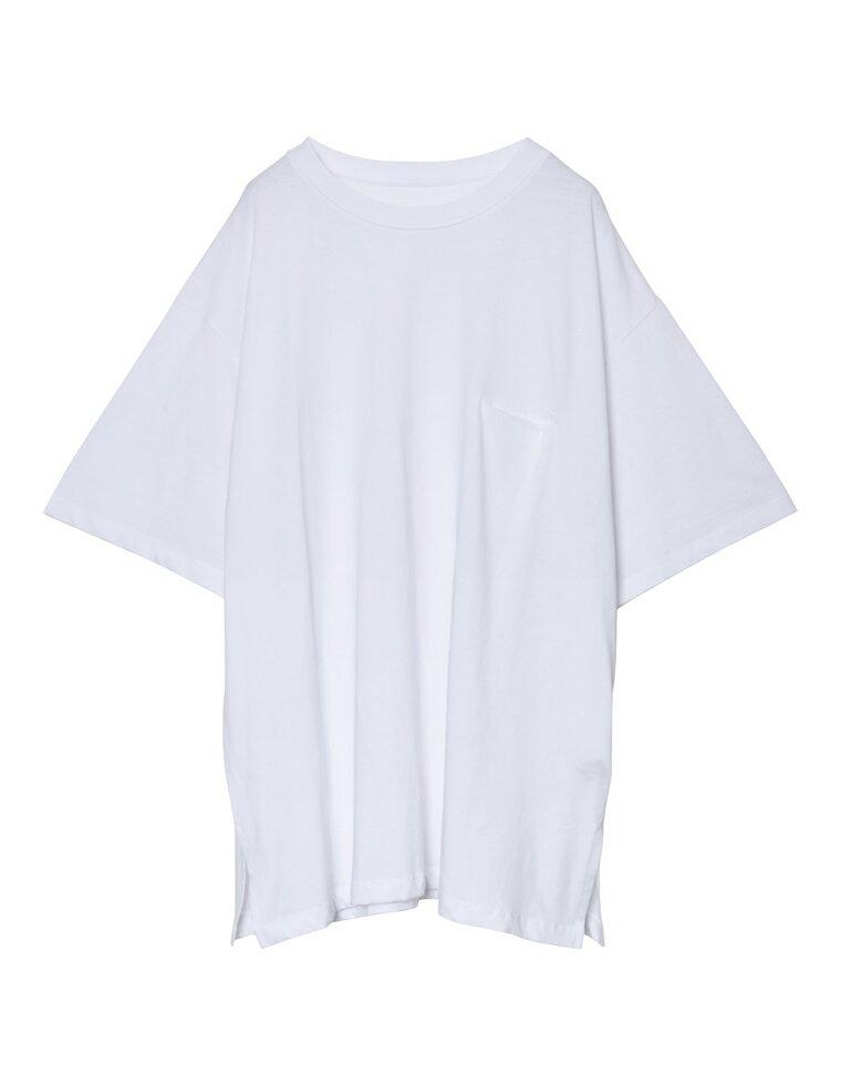 [お家で洗える]オーバーサイズ半袖カットソー