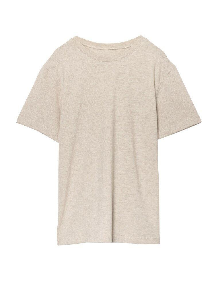 シプルクルーネック半袖カットソー