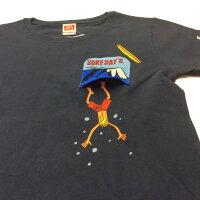 サーフデイズ男女兼用Tシャツ半袖2018新作ポケットダイブアウト全3色メンズM-XL送料無料