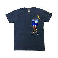 サーフデイズ男女兼用Tシャツ半袖2018新作ポケットダイブアウト全3色メンズM-XL