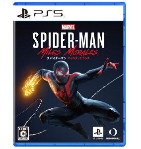 【新品】PS5 Marvel's Spider-Man: Miles Morales【メール便】