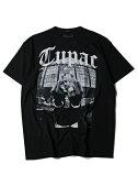 【インポート/あす楽】2PACFUCKS/STEEblackツーパックフォトTシャツブラック黒10P03Dec16