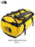 【USモデル】THE NORTH FACE ザ・ノースフェイス ベースキャンプダッフルバッグ ボストン ショルダー バックパック 2WAY イエロー BASE CAMP DUFFEL BAG - L 95L summit gold