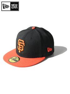 """【正規取扱店】ニューエラ オーセンティック サンフランシスコ ジャイアンツ ブラック オレンジ フラッグ ロゴ NEW ERA / AUTHENTIC COLLECTION FLAG LOGO """"San Francisco Giants"""" black/orange"""